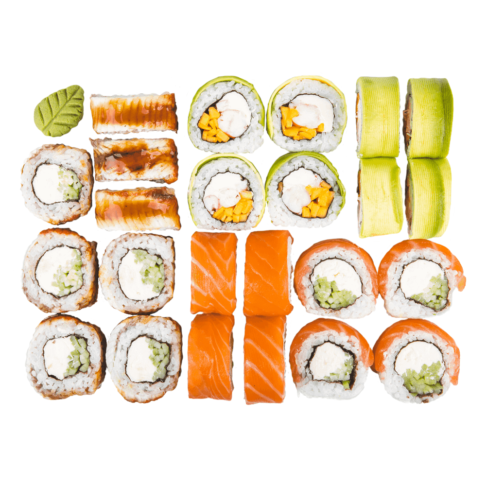 Сет #3 ᐈ заказать с доставкой в Москве по цене 2330.00 руб | Ninja Sushi Москва